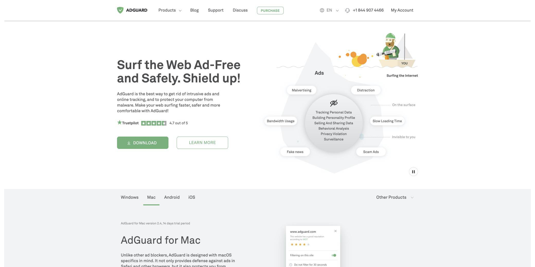adguard screenshot