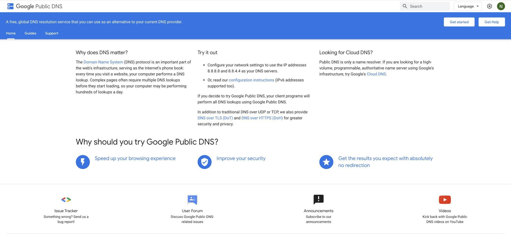 google-public-dns image