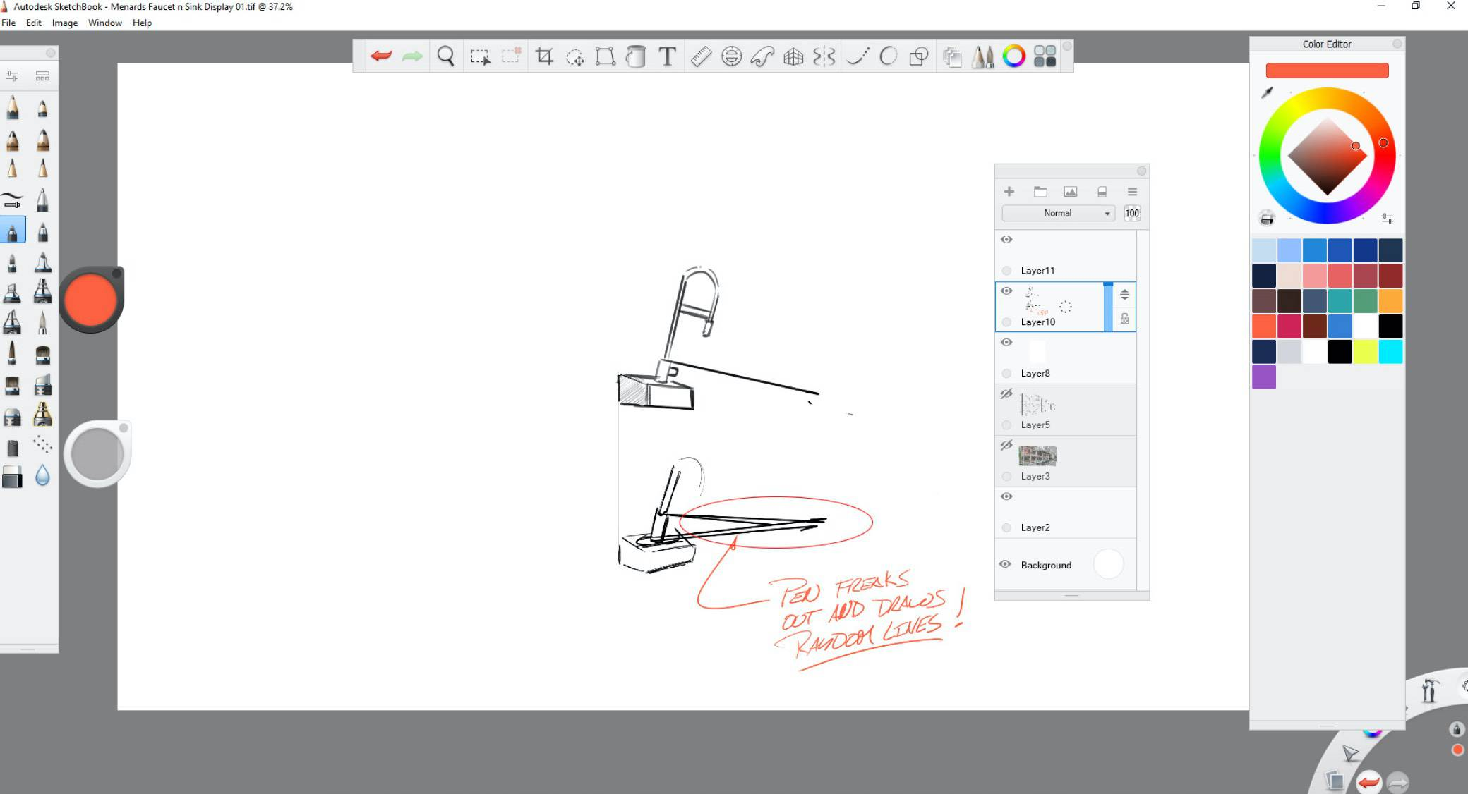 autodesk-sketchbook screenshot
