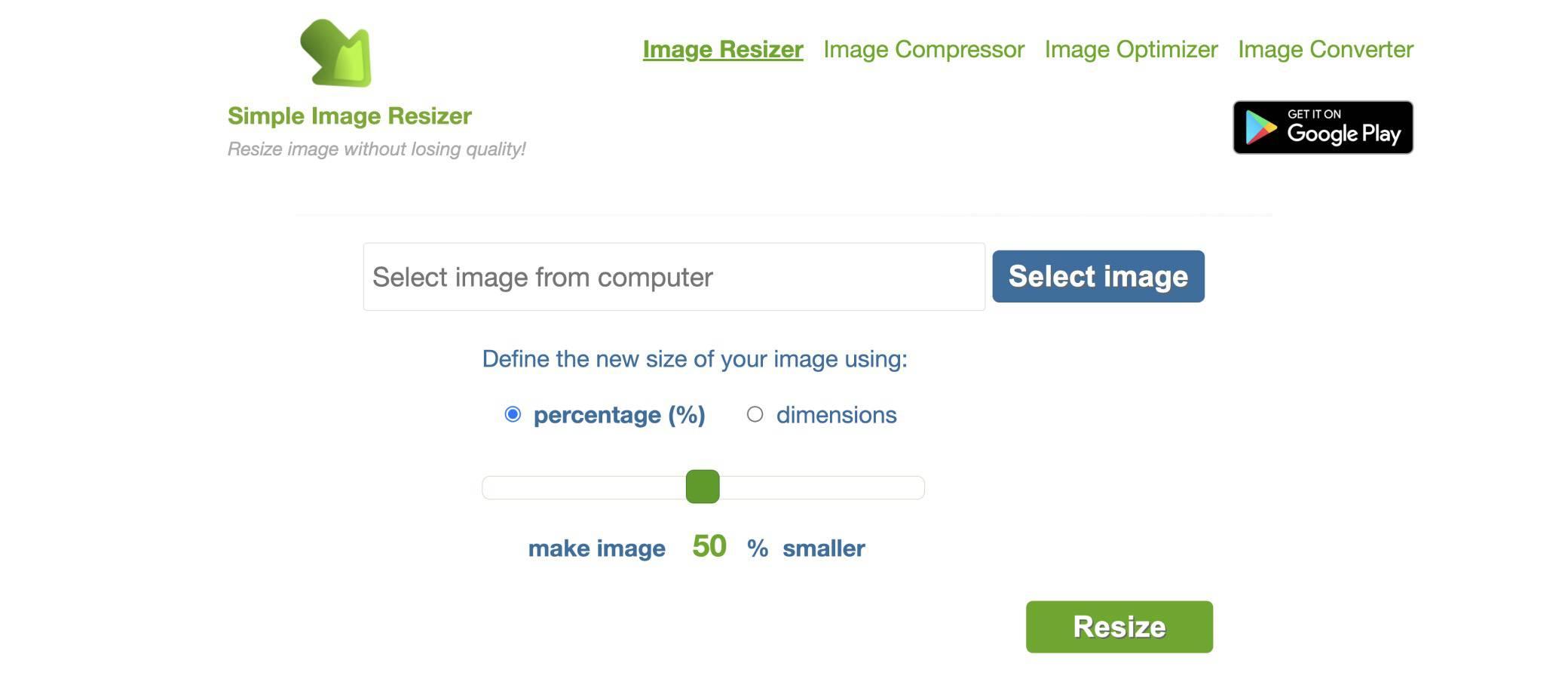 simple-image-resizer image