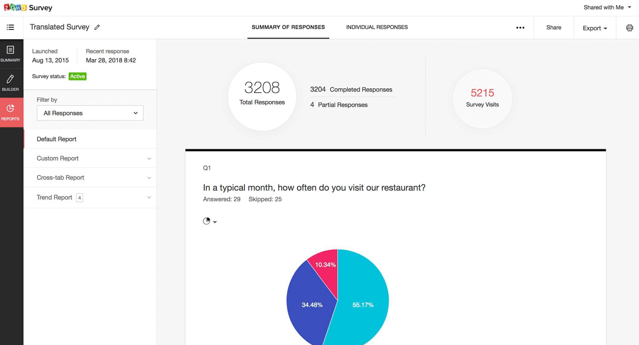 zoho-survey image
