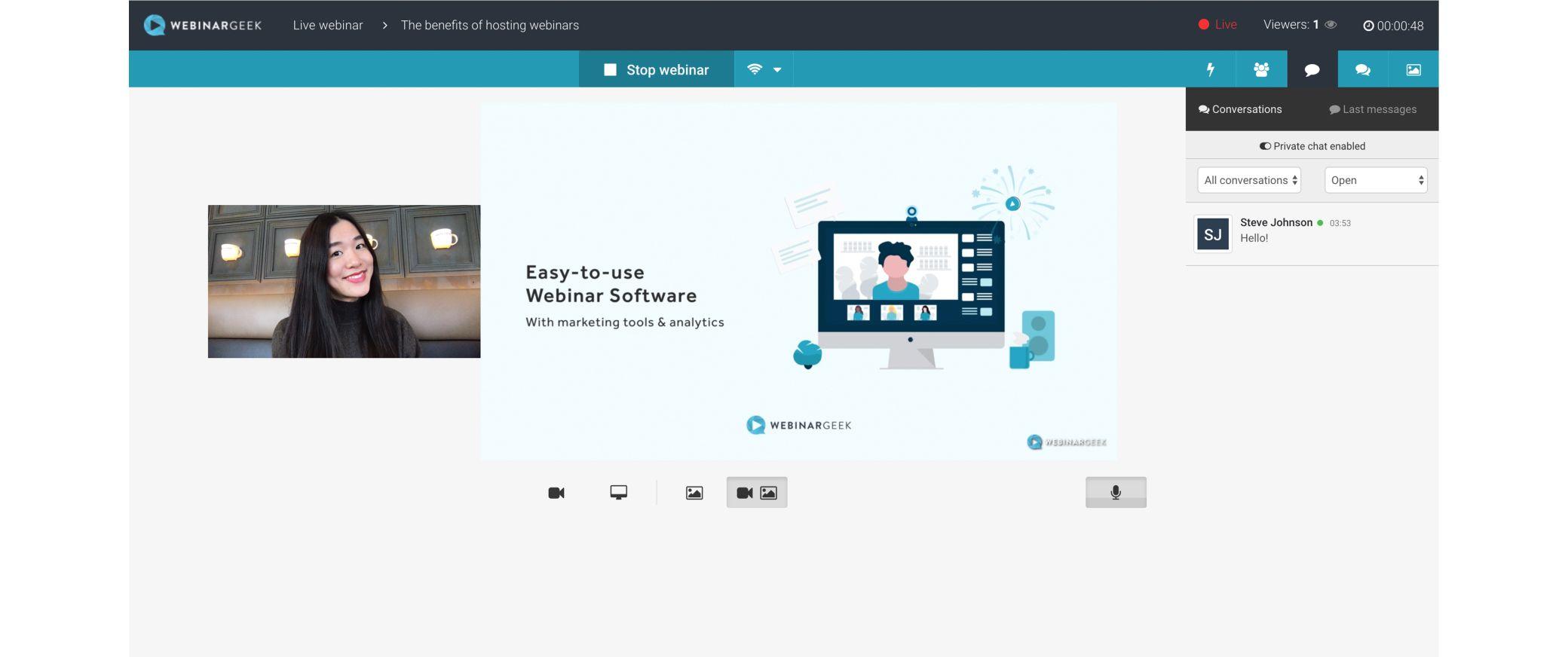webinargeek screenshot