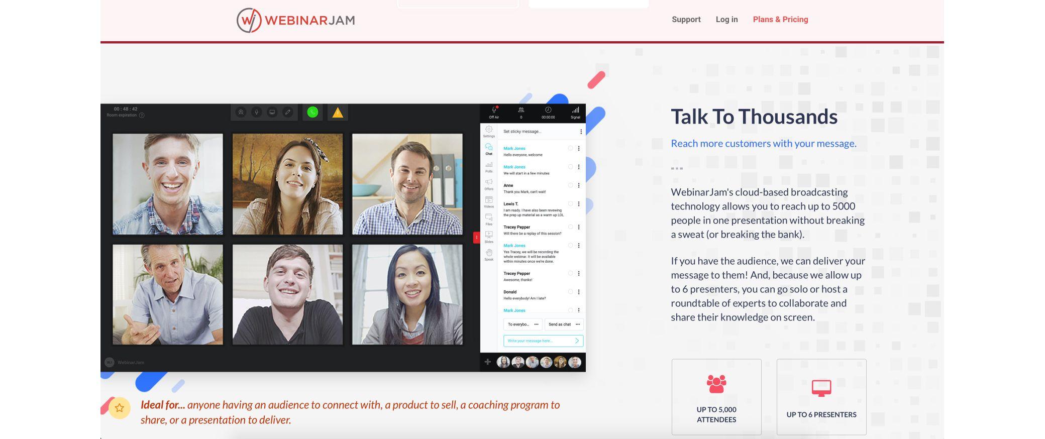 webinarjam screenshot