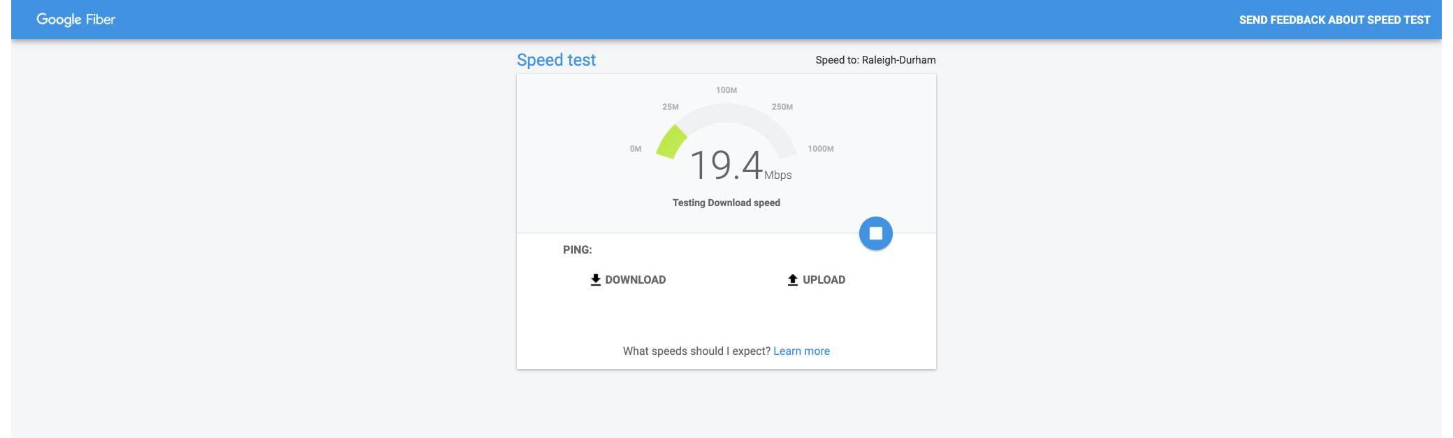 google-fiber screenshot