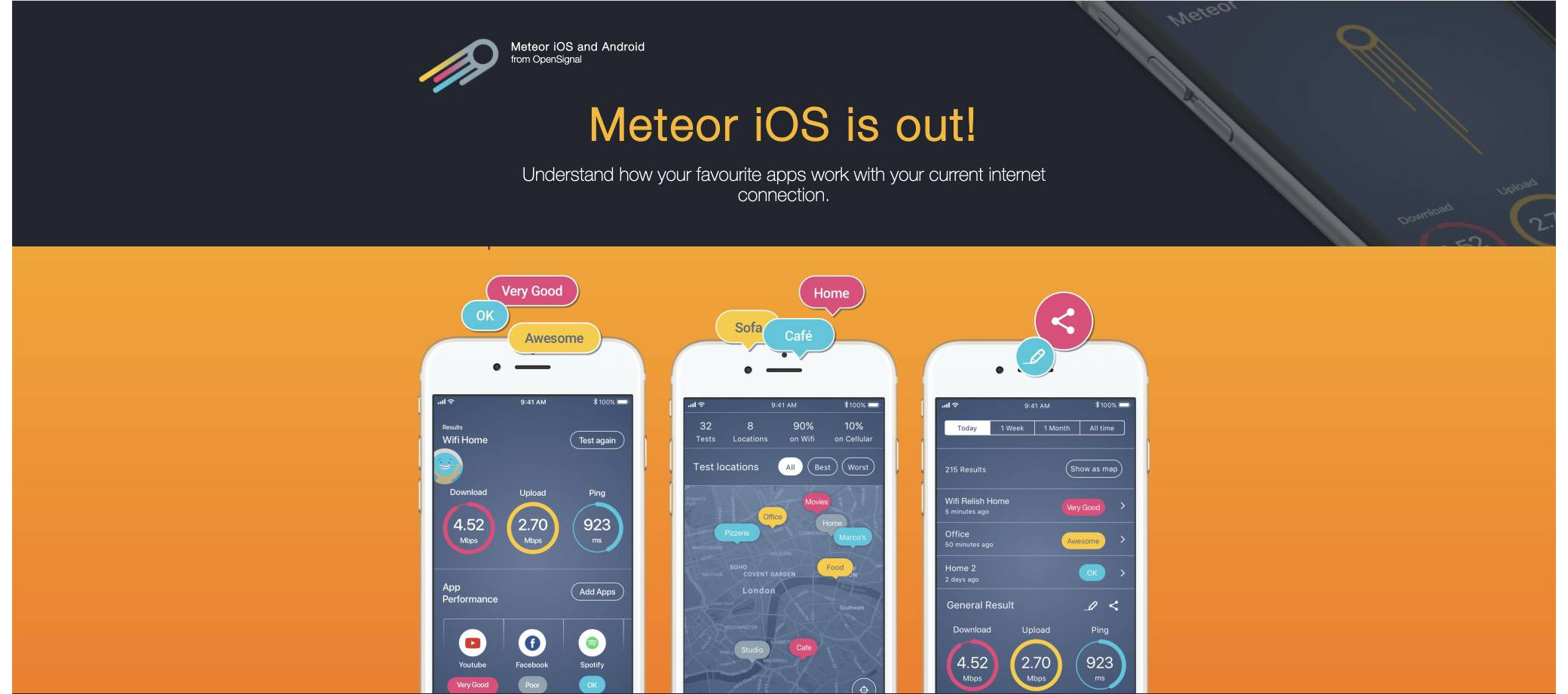 meteor-speed-test screenshot